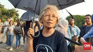 Kisah Sumarsih Diadang Polisi saat 13 Tahun Aksi Kamisan