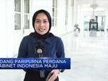 Sidang Perdana Kabinet Indonesia Maju, Apa Yang Dibahas?