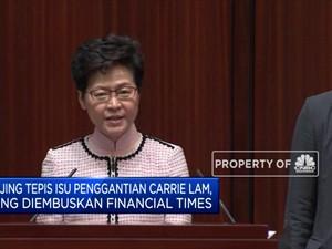 China Bantah akan Gantikan Carrie Lam