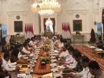 Pedas! Ini Pesan Jokowi ke Menteri Baru di Rapat Perdana