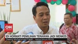 VIDEO: IDI Hormati Pemilihan Terawan Jadi Menkes