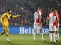 Babak I: Barcelona Unggul Tipis atas Slavia Praha