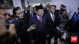 Prabowo soal Pembagian Tugas dengan Trenggono: Mau Tahu Aja