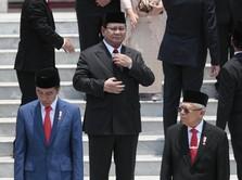 Gaya Prabowo: Ditemani Didit Hingga Sertijab dengan Ryamizard