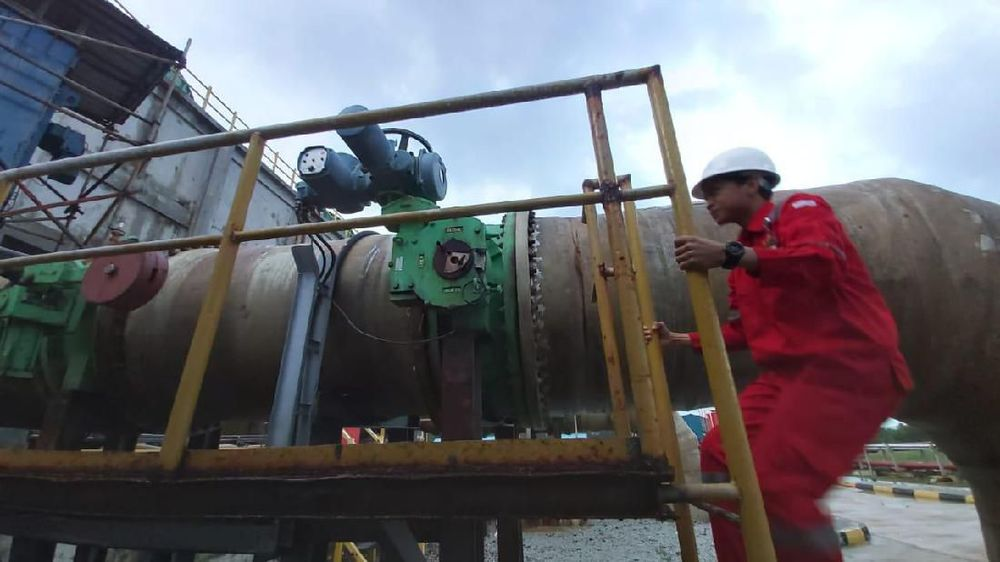 PLTG Tanjung Uncang memiliki kapasitas 120 MW.