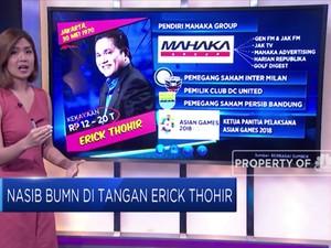 Nasib BUMN di Tangan Erick Thohir