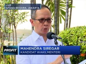 Ini Mahendra Siregar, Calon Wakil Menteri Luar Negeri