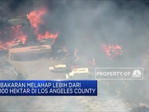 Kebakaran Lahan California Semakin Meluas