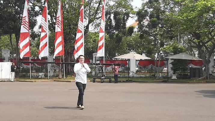 Calon wakil menteri dalam Kabinet Indonesia Maju mulai berdatangan di Istana Kepresidenan, Jakarta, Jumat (25/10/2019).