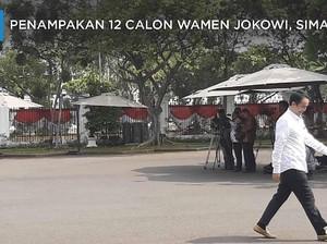 Penampakan 12 Calon Wamen Jokowi, Simak!