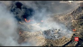 VIDEO: Ratusan Hektare Lahan di Los Angeles Hangus Terbakar