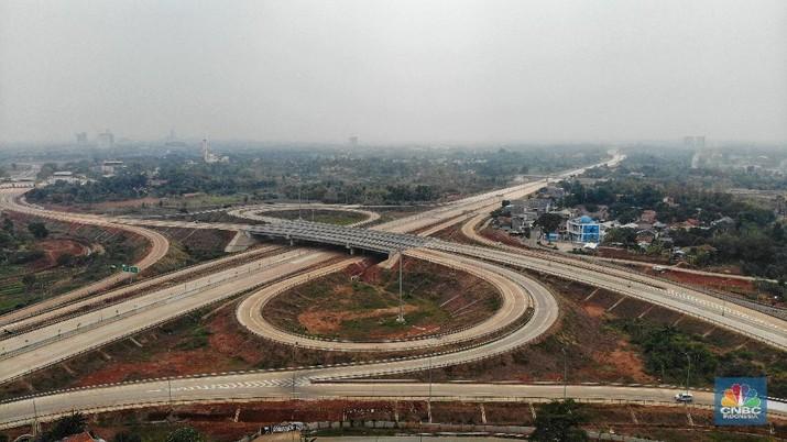 Tol Kunciran-Serpong akan menghubungkan wilayah Tangerang dan Tangerang Selatan.