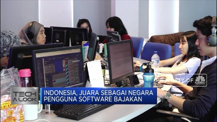 Wah! Indonesia Juara Pengguna Software Bajakan (CNBC Indonesia TV)