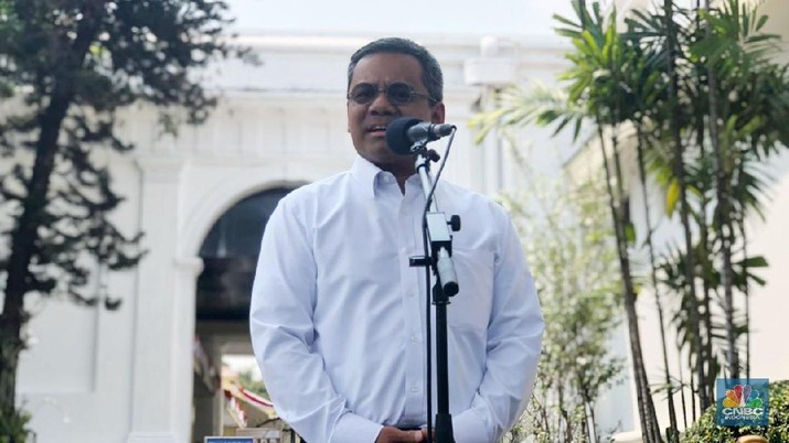 Suahasil Nazara (CNBC Indonesia/Chandra Gian Asmara)