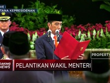 Jokowi Lantik Wakil Menteri Kabinet Indonesia Maju