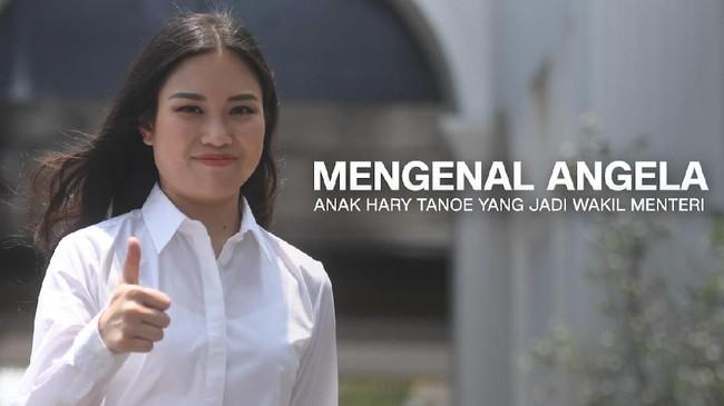 VIDEO: Angela, Anak Hary Tanoe yang Jadi Wakil Menteri