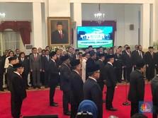 Ini Dia Gaji dan Tunjangan Para Wakil Menteri Jokowi