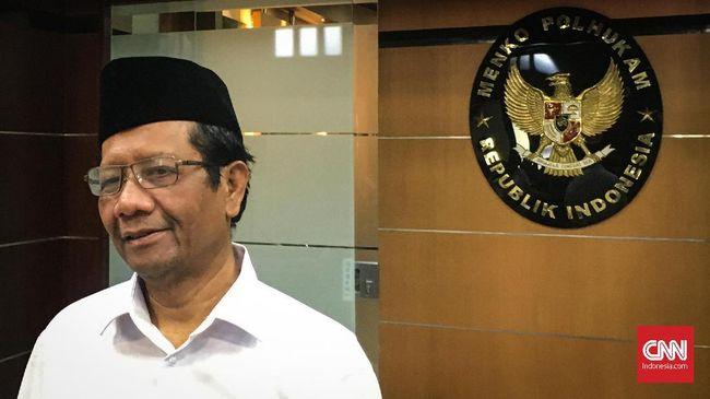 Mahfud Klaim Mulai Koordinasi Bentuk KKR untuk Kasus HAM