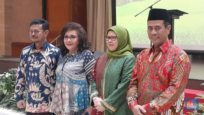 Mentan Syahrul Yasin Limpo meminta kepada para anak buahnya tak boleh tidur nyenyak mengejar target.
