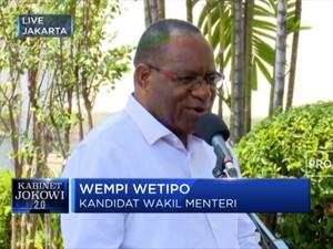 Wempi Wetipo Bakal Jadi Wakil Menteri PUPR