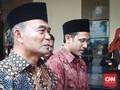Nadiem Makarim Salat Perdana di Kemendikbud Bersama Muhadjir