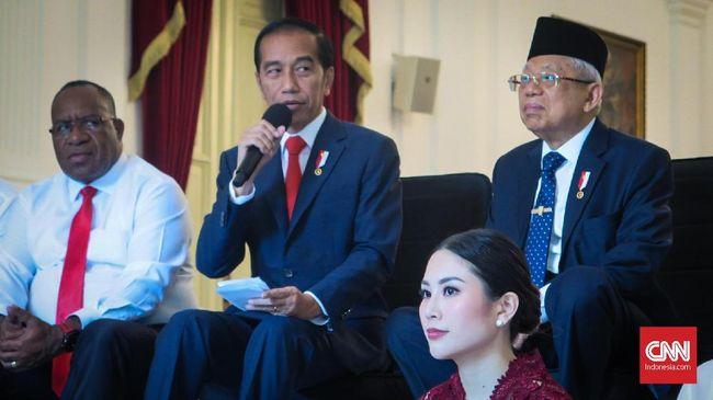 Jokowi Resmi Lantik 12 Wamen untuk Kabinet Indonesia Maju
