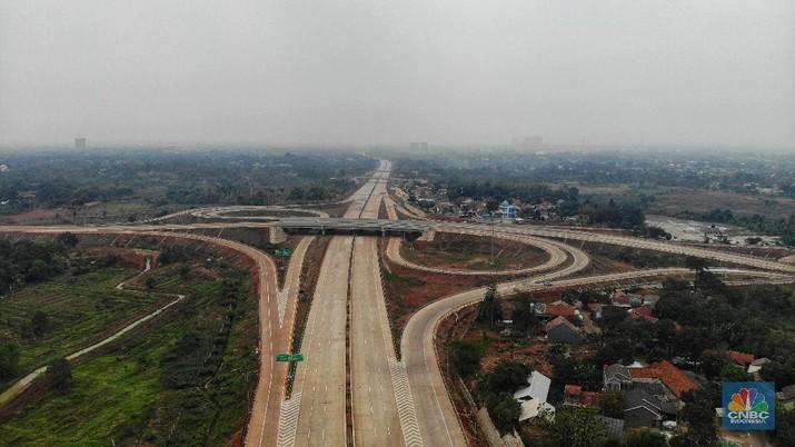 Dari rencana pembangunan tol baru selama 5 tahun ke depan, ada di Sumatera dan Sulawesi.