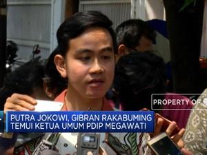Incar Kursi Wali Kota Solo, Gibran Rakabuming Temui Megawati