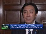 Menteri Perdagangan Jepang Mundur