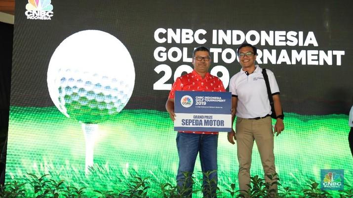 CNBC Indonesia menyelenggarakan golf tournament