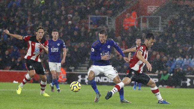 Jadwal Siaran Langsung Liga Inggris: Leicester vs Arsenal