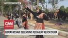 VIDEO: Ribuan Penari Belentung Pecahkan Rekor Dunia