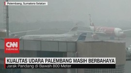 VIDEO: Kualitas Udara Palembang Masih Berbahaya