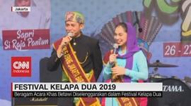 VIDEO: Acara Khas Betawi di Festival Kelapa Dua 2019