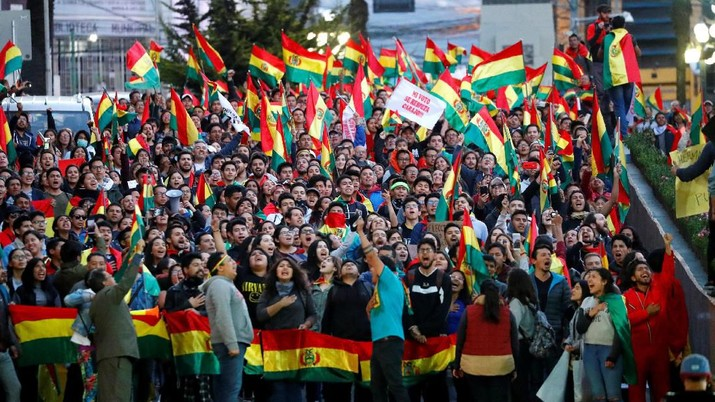 Pilpres Penuh Kecurangan, Kerusuhan Marak di Bolivia