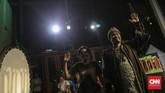 Pertunjukan Wayang Bocor diadakan Dia.Lo.Gue Artspace, Kemang, Jakarta, Sabtu, 26 Oktober 2019. (CNN Indonesia/Bisma Septalisma)