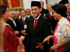Seabrek PR Nadiem Jadi Pembantu Jokowi