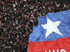 Mengintip Penampakan Demo 1 Juta Orang di Chile