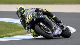 Hasil FP2 MotoGP Valencia: Rossi Kembali Terjatuh