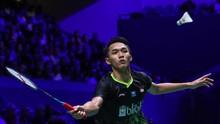 Jonatan Menang di Babak Pertama Hong Kong Open 2019