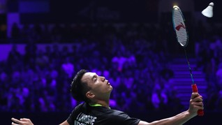 Jonatan Maju ke Semifinal Hong Kong Open 2019