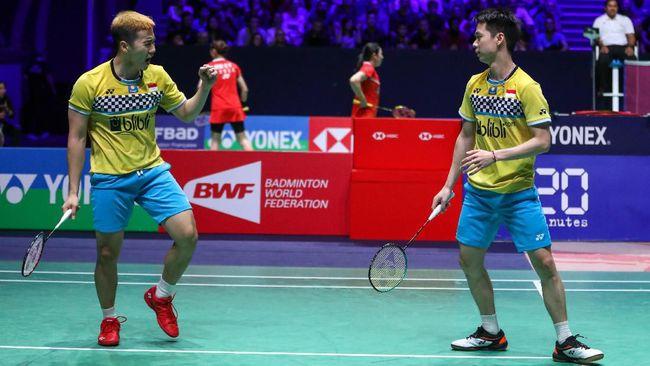 Hasil Fuzhou China Open 2019: Kevin/Marcus Lolos ke Semifinal