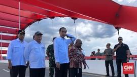 Resmikan Jembatan, Jokowi Kembali Sebut Papua Surga Kecil