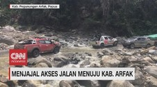 VIDEO: Menjajal Akses Jalan Menuju Kabupaten Arfak