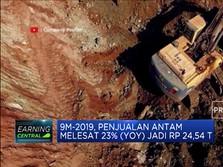 Laba Bersih Antam Terpangkas 11,08% Jadi Rp 561,19 M