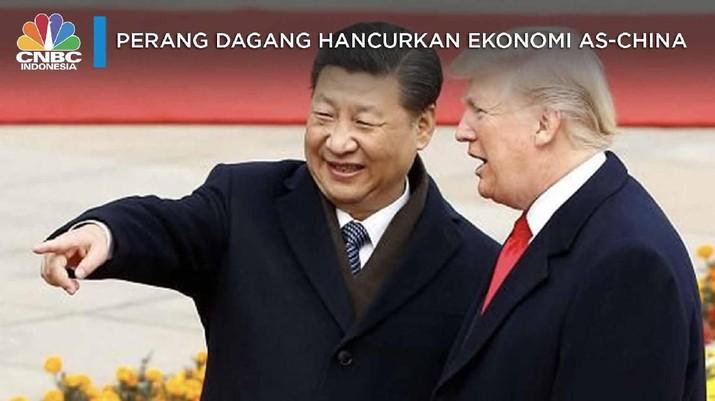 Waduh! Damai Dagang AS-China Bakal Tertunda, Kok Bisa?
