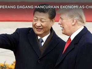 Perang Dagang Hancurkan Ekonomi AS-China