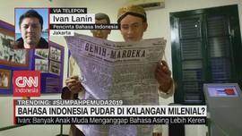 VIDEO: Bahasa Indonesia Pudar di Kalangan Milenial