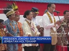 Presiden Jokowi Siap Resmikan Jembatan Holtekamp