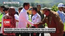 VIDEO: Presiden Jokowi Bersama Rombongan Tiba di Wamena